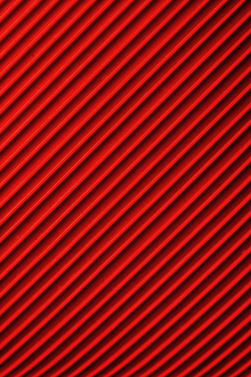 close up photo of red textile